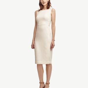 Ann Taylor Block Jacquard Sheath Dress